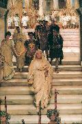 The Triumph of Titus by Lawrence Alma-Tadema Sir Lawrence Alma-Tadema,OM.RA,RWS